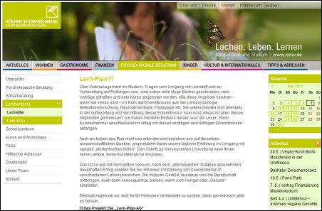 Website Lern-Plan-AG